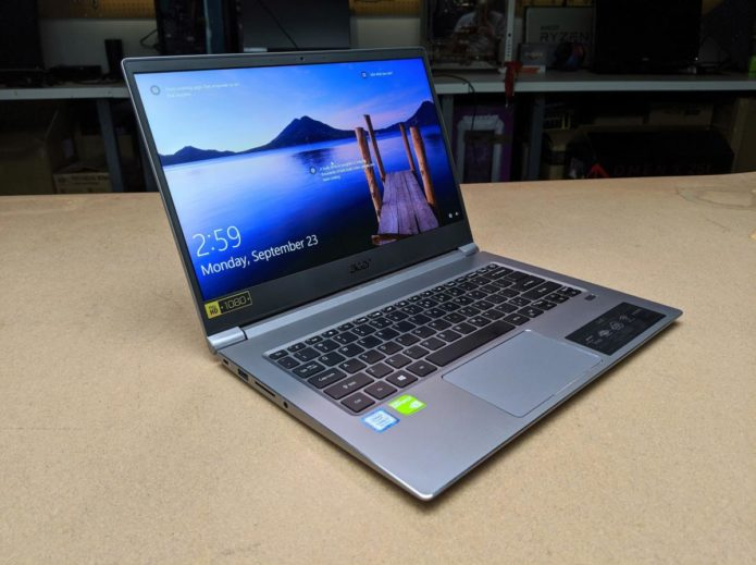 Acer Swift 3 (2019) (SF314-55G-78U1) review: This midrange notebook PC hides Nvidia graphics power