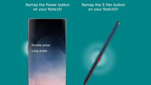 Galaxy Note 10 S Pen button gets a new talent with sideActions app
