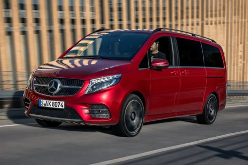Pricing announced for facelifted Mercedes-Benz V-Class