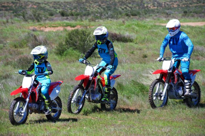2019 HONDA CRF250F, CRF125F, AND CRF110F REVIEW: FAMILY MOTORCYCLES