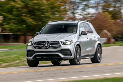 2020 Mercedes-Benz GLE350 review