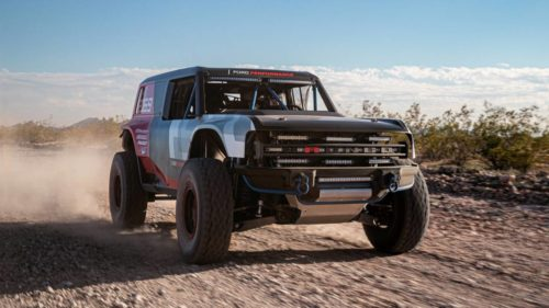 New Ford Bronco R race prototype teases 2020 reveal of long-awaited truck