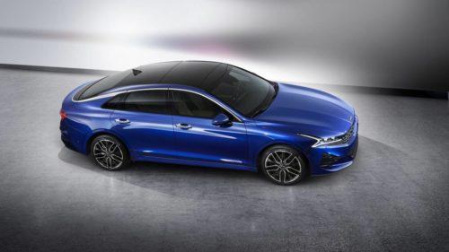 2021 Kia Optima previewed by this striking K5 sports sedan