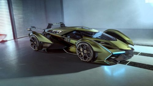 The Lamborghini Lambo V12 Vision Gran Turismo has just one problem