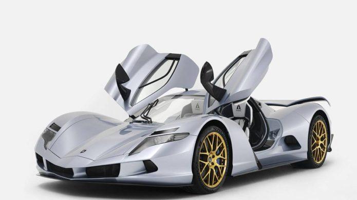 Production Aspark Owl EV hypercar debuts in Dubai with 2012bhp