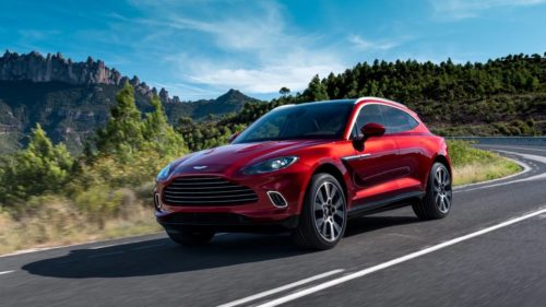2020 Aston Martin DBX first look: SUV body, supercar heart