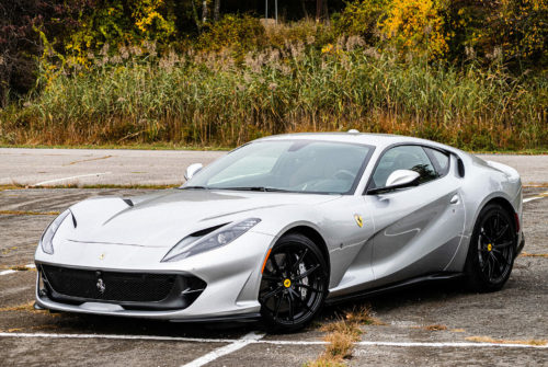 The Ferrari 812 Superfast and the Beauty of Fleeting Moments