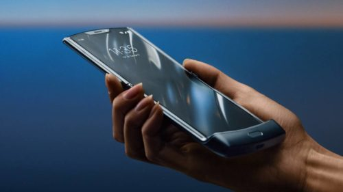Motorola Razr reborn as folding-screen Android phone