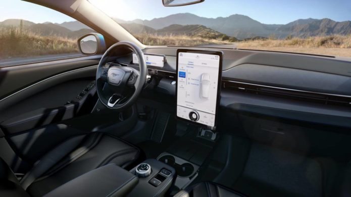 Ford SYNC 4 first look: Mustang Mach-E high-tech dashboard revealed