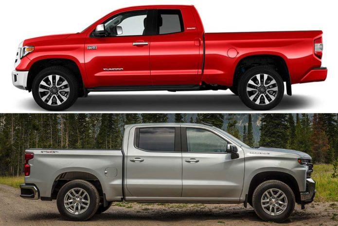 2020 Chevrolet Silverado vs 2020 Toyota Tundra