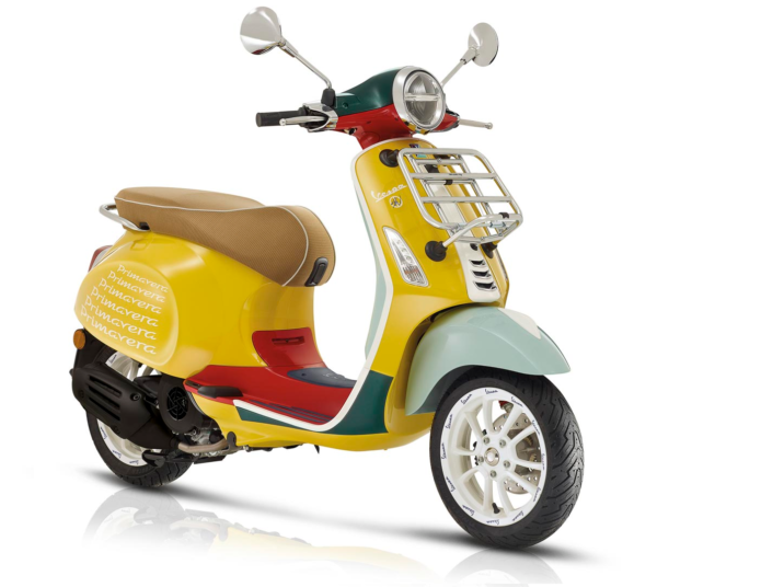 2020 VESPA PRIMAVERA SEAN WOTHERSPOON SCOOTER FIRST LOOK