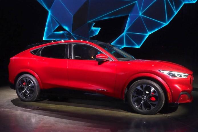 Ford's Mustang Mach-E unveil got an unexpected response from Elon Musk