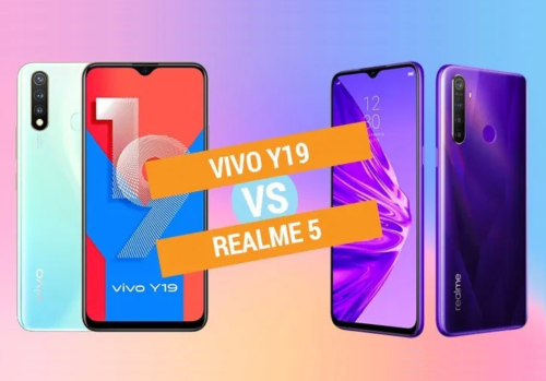 Vivo Y19 vs Realme 5 specs comparison