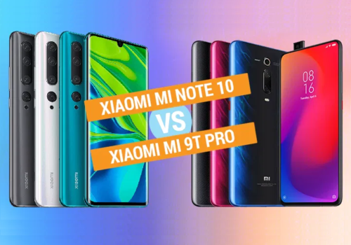 Xiaomi Mi Note 10 vs Xiaomi Mi 9T Pro Specs Comparison