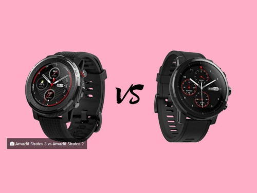 Amazfit Stratos 3 vs Amazfit Stratos 2: comparison of features, prices and opinion