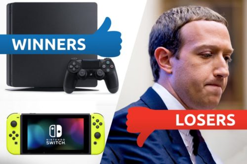 Winners & Losers: Console heroes and Zuckerberg's zeroes