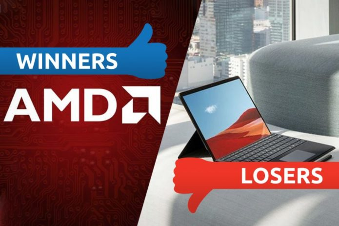 Winners & Losers: AMD rips threads and the Surface Pro X comes up short