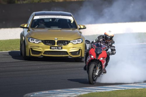 BMW M3 vs BMW S 1000 RR: Now open to the public