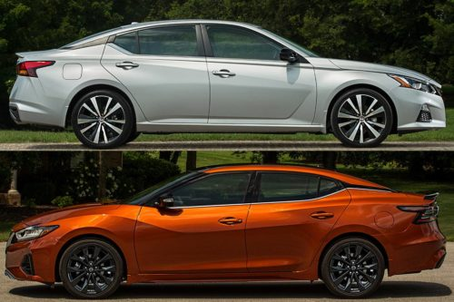 2020 Nissan Altima vs. 2020 Nissan Maxima: What's the Difference?