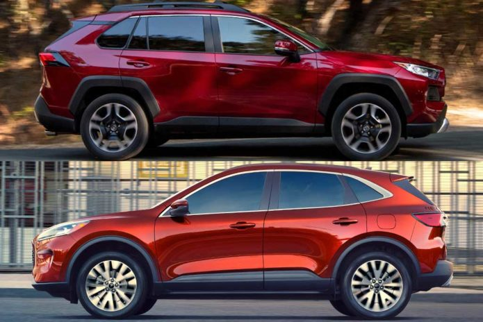 2020 Toyota RAV4 VS 2020 Ford Escape