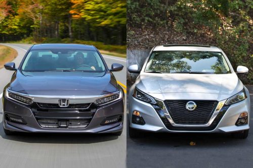 2020 Honda Accord vs. 2020 Nissan Altima: Which Is Better?