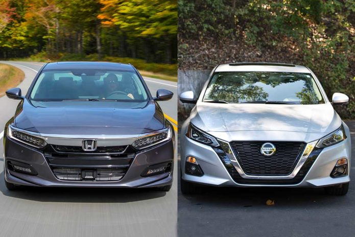 2020 Honda Accord VS. 2020 Nissan Altima