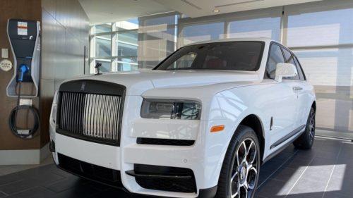 Rolls-Royce Cullinan Black Badge makes luxury SUV even more dramatic