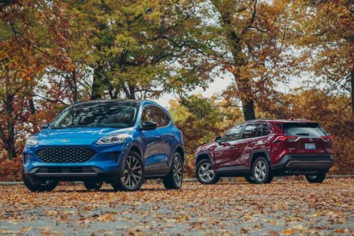 2020 Ford Escape Hybrid vs. 2019 Toyota RAV4 Hybrid: Which Fuel-Sipping Compact Crossover Is Better?
