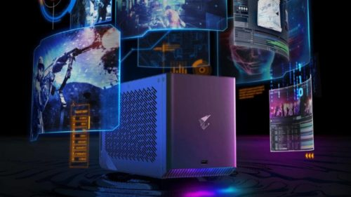 Gigabyte AORUS RTX 2080 Ti Gaming Box is a water-cooled graphics dock