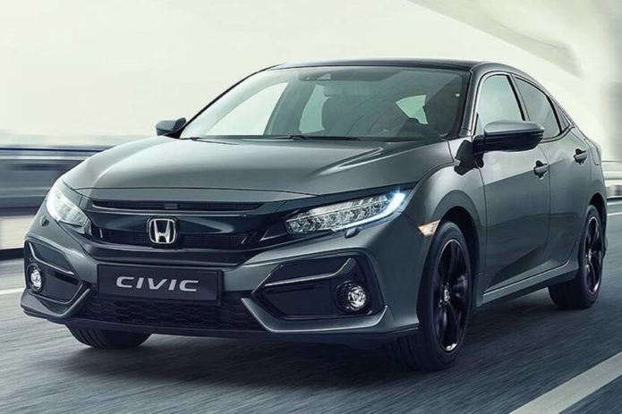 2020 Honda Civic facelift revealed