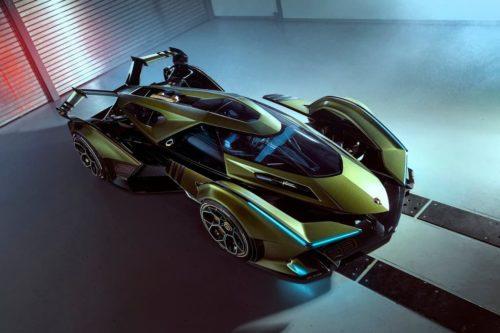 Wild Lamborghini V12 Vision Gran Turismo unveiled