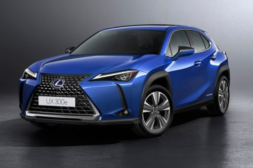 Lexus UX 300e EV revealed