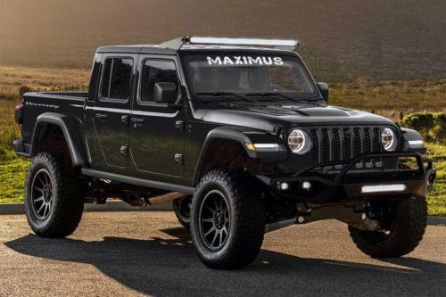 Maximus Jeep Gladiator ute is crazy