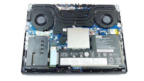Inside Lenovo Legion Y7000 (2019) – disassembly and upgrade options