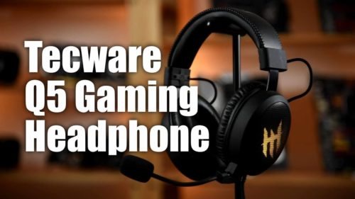 Tecware Q5 Gaming Headset Review and Giveaway
