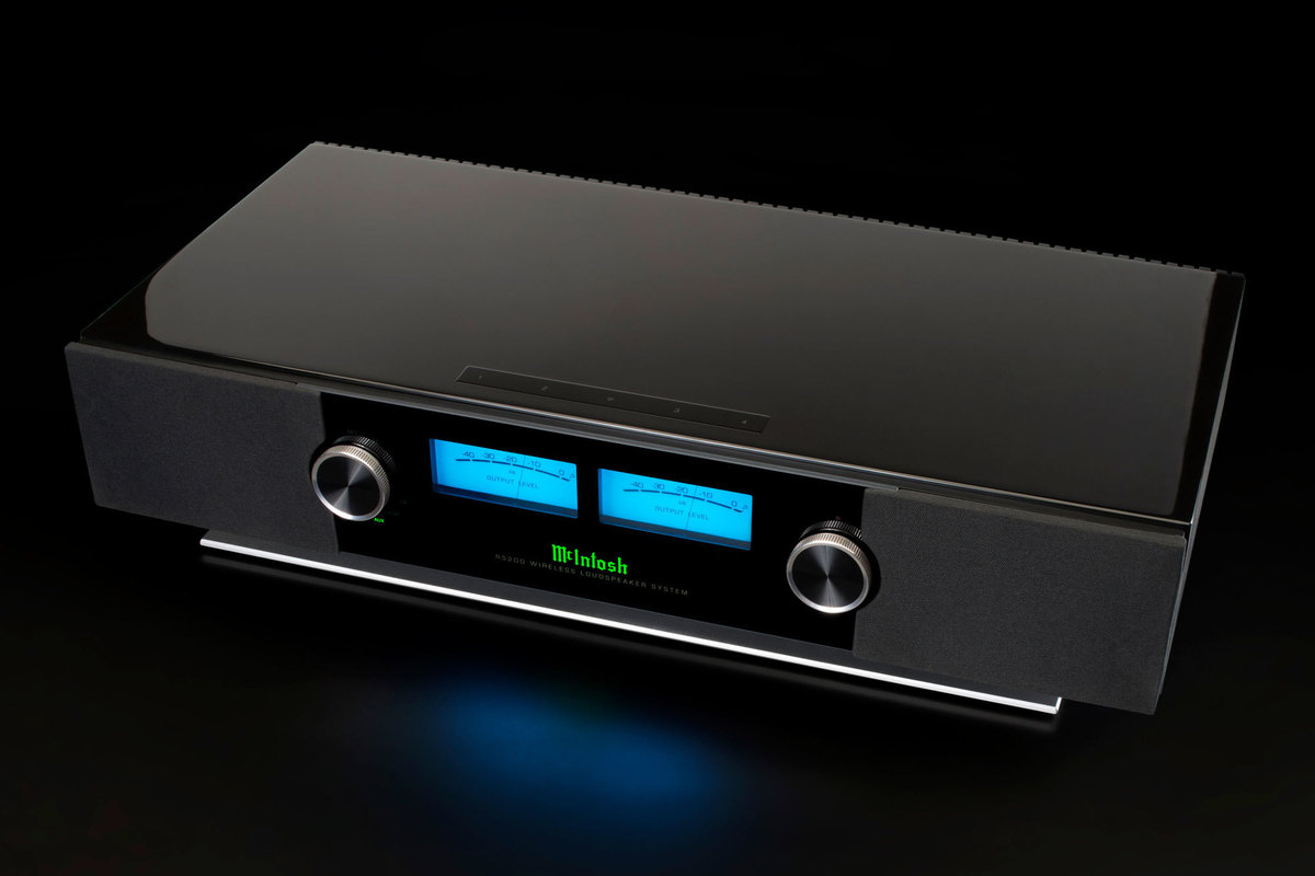 McIntosh RS200 wireless speaker review: Congested sound mars the performance of this high-end behemoth