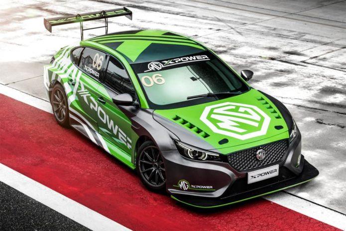 MOTORSPORT: MG weighing up TCR Australia tilt