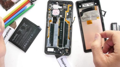 Nubia Z20 teardown hints at difficult repairs