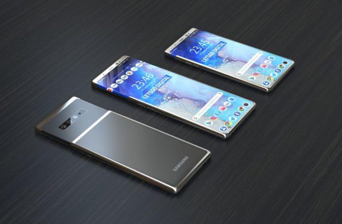 Samsung Galaxy S11 Renderings Leaked: Waterfall Screen, Post Spectrometer