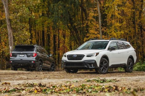 2020 Subaru Outback vs. 2019 Honda Passport: Which Is the Better Mid-Size Utility Vehicle?