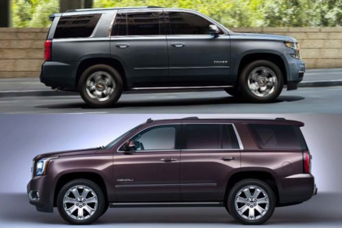 2020 Chevrolet Tahoe vs. 2020 GMC Yukon: What's the Difference?