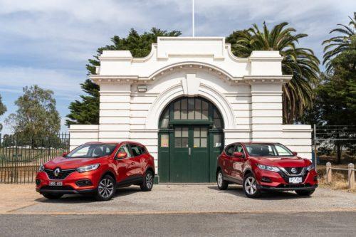 2019 Nissan QASHQAI ST+ v Renault Kadjar Zen Comparison