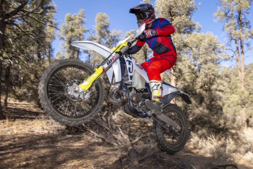 2020 HUSQVARNA TE 150I REVIEW: SINGLE-TRACK TEST (17 FAST FACTS)