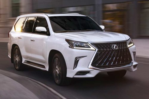 2020 Lexus LX Review