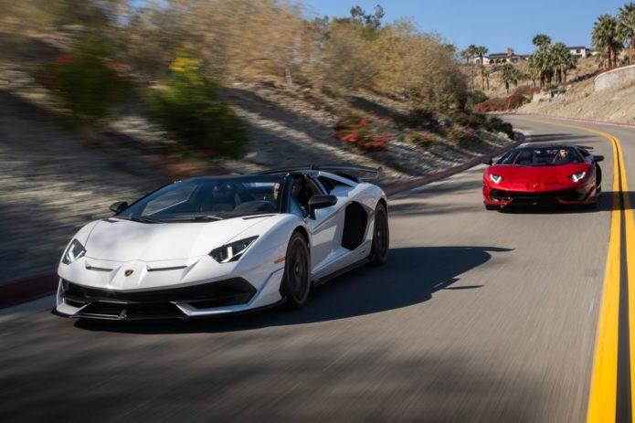 2020 Lamborghini Aventador SVJ Roadster Revels in Pure V-12 Excess