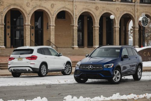 2020 Mercedes-Benz GLC300 vs. 2019 BMW X3: Which Brand Builds the Better Compact Luxury SUV?