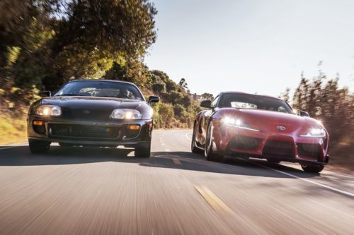 2020 Toyota Supra vs. 1994 Toyota Supra Turbo: Reflections on a Japanese Performance Icon