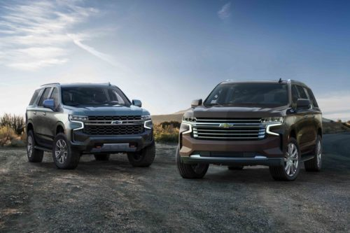 All-New 2021 Chevy Suburban and Tahoe Get Roomier, Add a Diesel