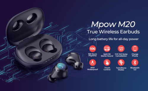 Mpow M20 review: Budget earbuds with an unbeatable battery