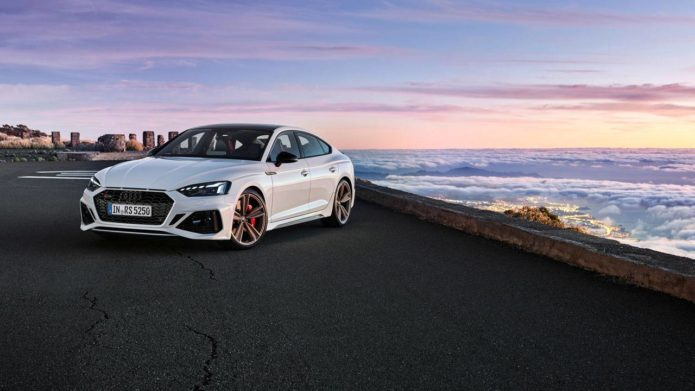 Audi unveiled revised RS 5 Coupe and RS 5 Sportback
